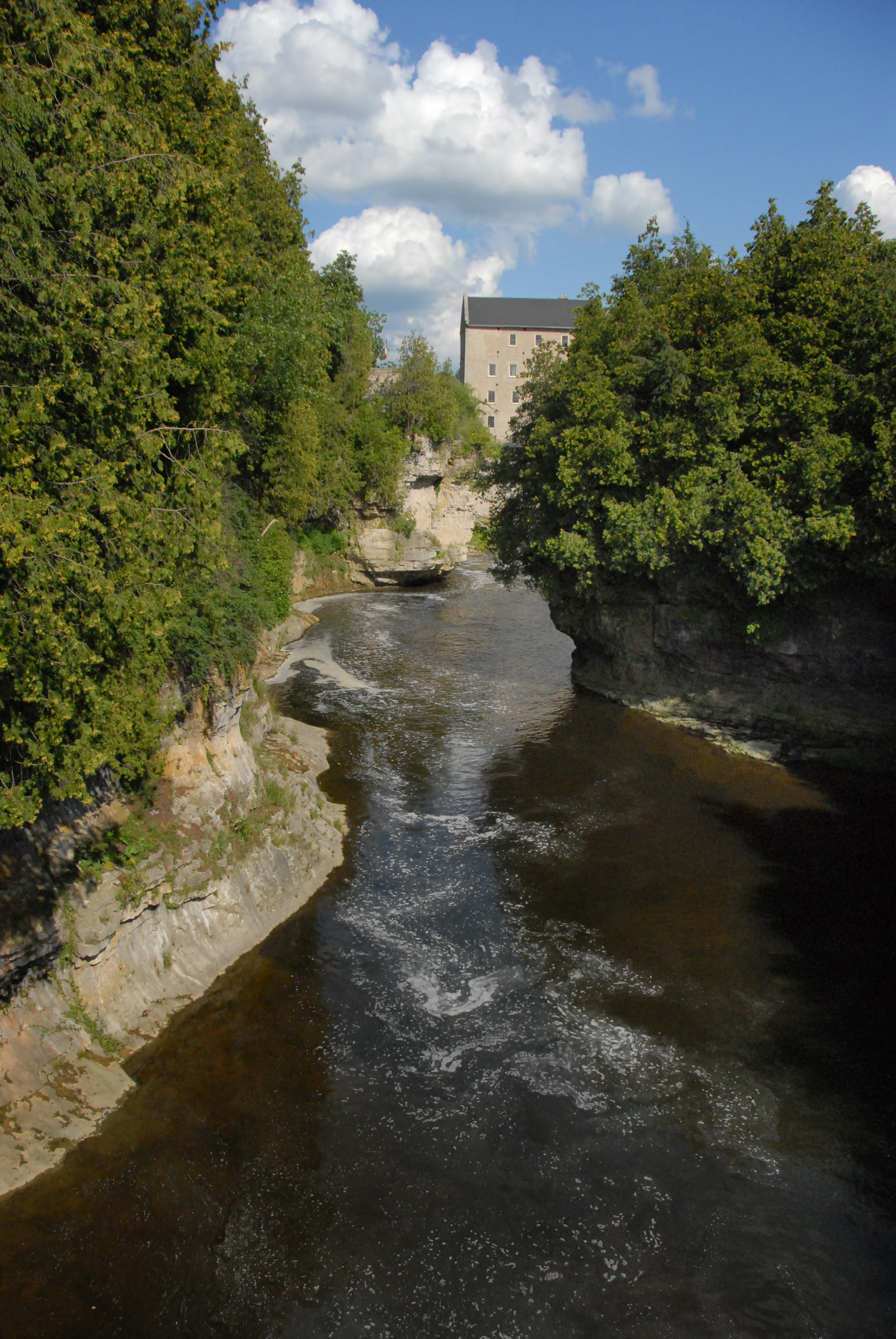 Elora Mill and Grand River