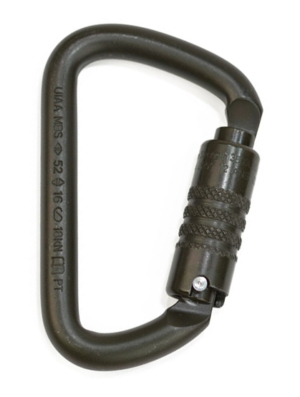 Large D Triple Action Carabiner