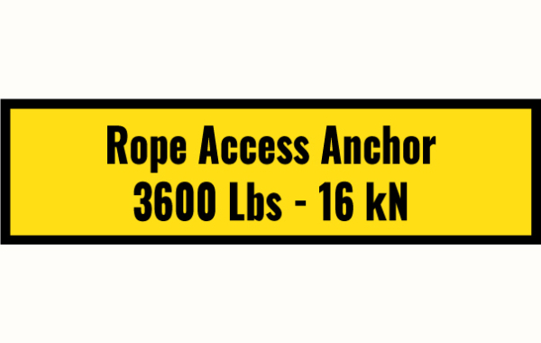 Rope Access Sticker
